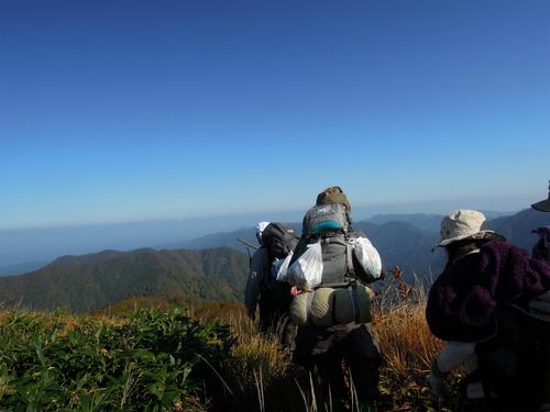 △登山日記[09]白神岳プチ縦走